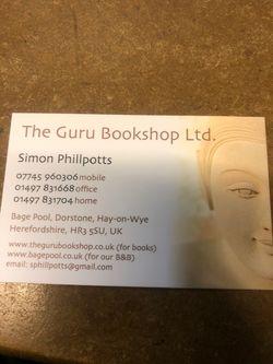 The Guru Bookshop Ltd, Green Warehouse logo
