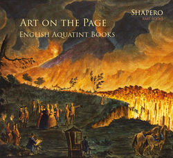 Cover of Art on the Page - English Aquatint Books