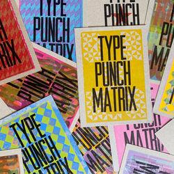 Type Punch Matrix store photo