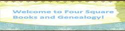 Four Square Books & Genealogy logo