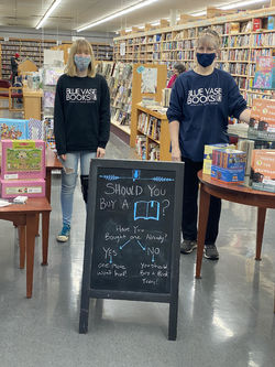 Blue Vase Books LLC store photo