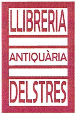 Llibreria Antiquaria Delstres logo