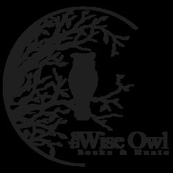 The Wise Owl Books and Music logo