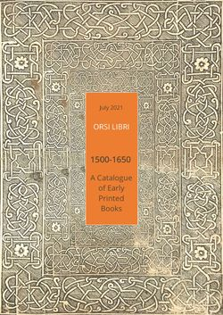 Cover of 1500-1650. A Catalogue of Early...