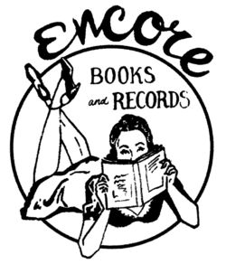 Encore Books & Records bookstore logo