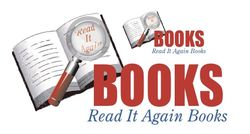 Read It Again Books bookstore logo