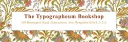 The Typographeum Bookshop bookstore logo
