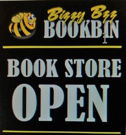 logo: Bizzy Bzz Bookbin