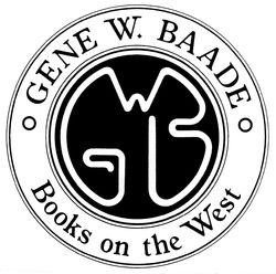logo: Gene W. Baade  Books on the West