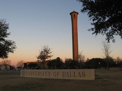 logo: University of Dallas