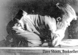 logo: Dave Shoots, Bookseller