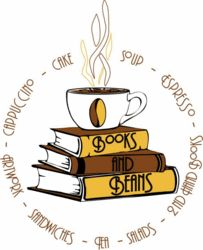 logo: Books and Beans