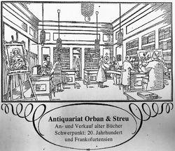 logo: Antiquariat Orban & Streu GbR