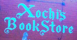 logo: Xochis Bookstore and Gallery