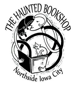 logo: The Haunted Bookshop, LLC