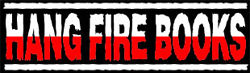 Hang Fire Books, IOBA bookstore logo