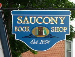 logo: Saucony Book Shop
