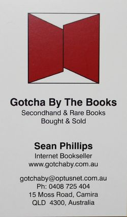 logo: Gotcha By The Books