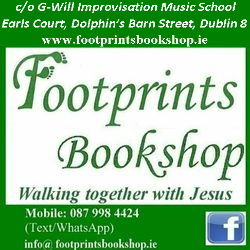 Footprints Bookshop logo