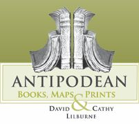 Antipodean Books, Maps & Prints bookstore logo