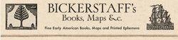 BICKERSTAFF'S BOOKS, MAPS &C. logo