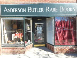 Anderson Butler Rare Books store photo