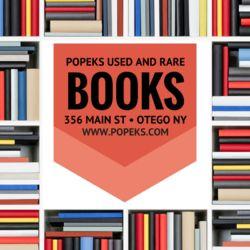 Popeks Books, IOBA logo