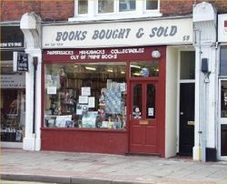 Books Bought and Sold bookstore logo