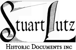 logo: Stuart Lutz Historic Documents, Inc.