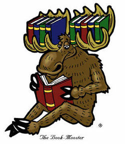 The Book Moose logo