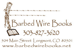 Barbed Wire Books bookstore logo