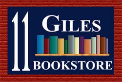 11 Giles Bookstore logo