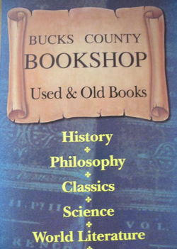 logo: Bucks County Bookshop  IOBA