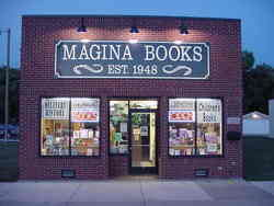 logo: Magina Books