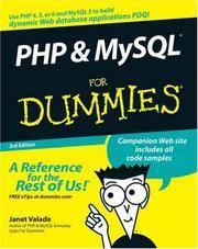 Php  Mysql For Dummies 3rd Edition