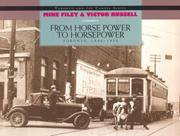 From Horse Power to Horsepower: Toronto 1890-1930