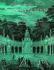 Piano Concertos Nos 23-27 In Full Score