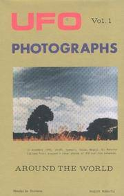 UFO Photographs Vol. 1