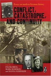 CONFLICT CATASTROPHE AND COTINUITY (HB 2007)