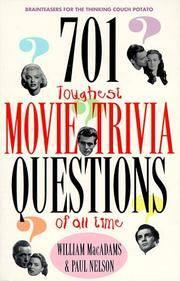 701 Toughest Movie Trivia ?