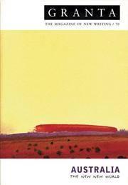 Australia: The New New World, Granta 70 [Paperback] by Jack, Ian