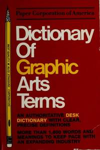 DICTIONARY OF GRAPHIC ARTS TERMS-FIRST EDITION