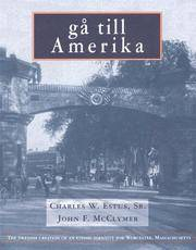 Ga till Amerika: The Swedish creation of an ethnic identity for Worcester, Massachusetts