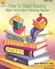 How to Teach Reading: When You're Not a Reading Teacher (Kids' Stuff)
