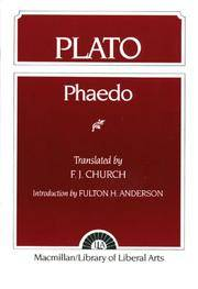image of Plato: Phaedo (Library of Liberal Arts, No. 30)