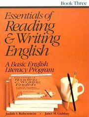Essentials of Reading and Writing English Book 3