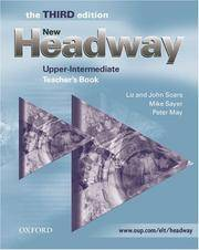 New headway by soars liz soars john image of new headway upper intermediate third edition fandeluxe Image collections