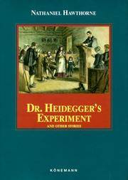 image of Dr. Heidegger's Experiment and Other Stories