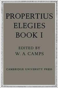 image of Propertius: Elegies (Volume 1)