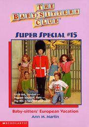 image of Baby-Sitters' European Vacation (Baby-Sitters Club Super Special)
